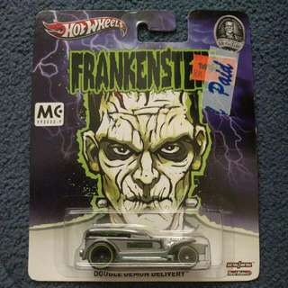 Hot Wheels Frankenstein (Home Of The Pri Monsters Series)