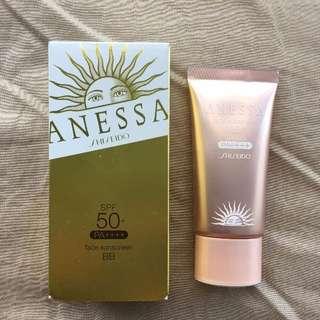 Anessa Shiseido Face Sunscreen BB SPF 50+