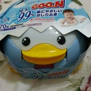 🚚 全新企鵝濕紙巾盒