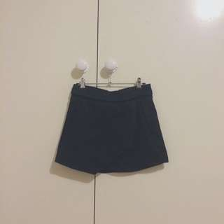 Black Glassons Mini-skirt