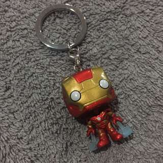 🌟Ironman Pop Keychain