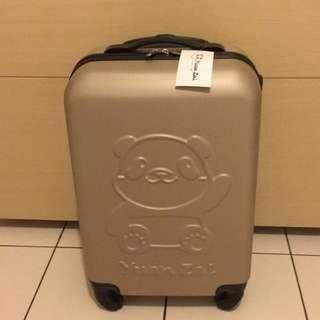 全新20吋大貓熊圓仔行李箱