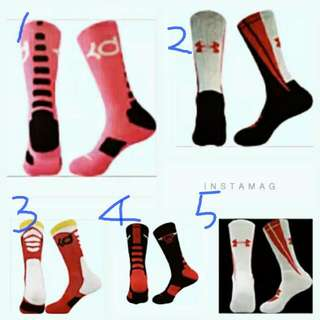 ®籃球襪 運動襪 毛巾襪 長襪 襪子 中長筒 NBA KD