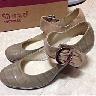 《含運》SD韓美鞋 高質感高跟鞋(9.5新)