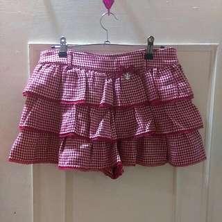 (保留💕)Knightsbridge千鳥格毛呢蛋糕褲裙