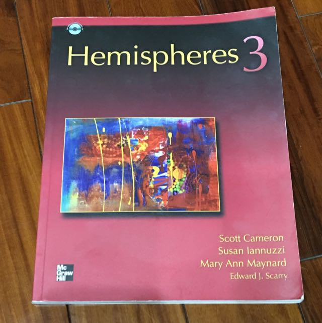 ‼️8成新‼️ Hemispheres 3 大一基礎英文