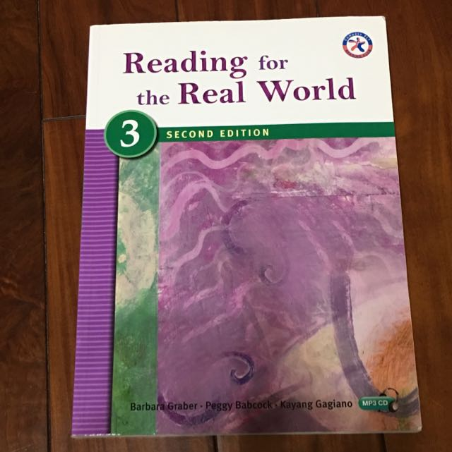 ‼️9成新 ‼️ [二手]Read for the Real World