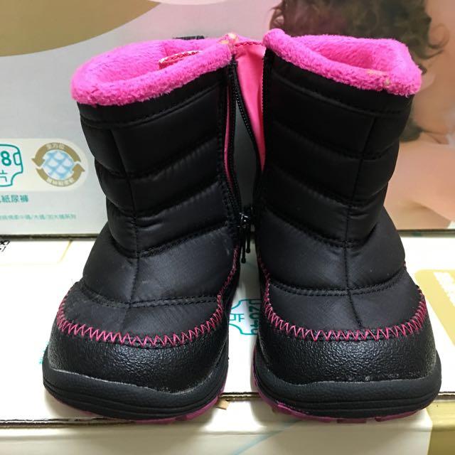(二手,9成新)日本IFME 兒童雪靴12.5