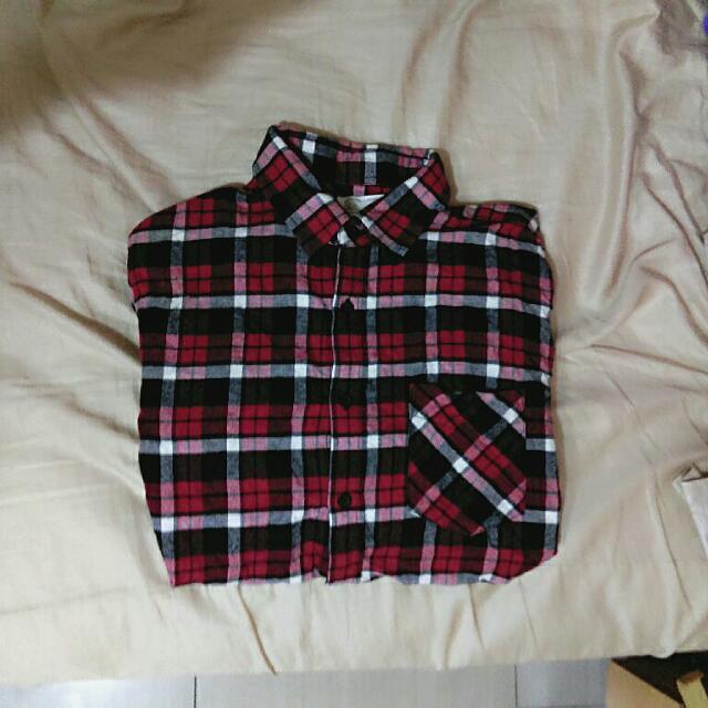 (超百搭)寬鬆長版襯衫