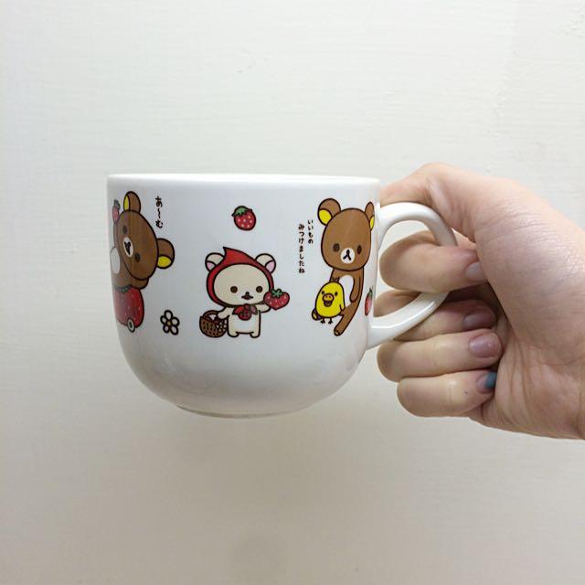 全新懶懶熊杯子✨