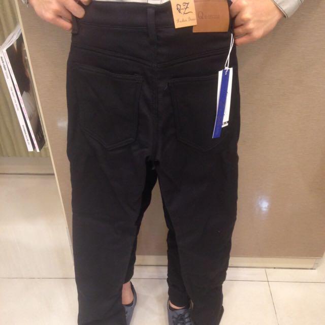 全新黑色褲