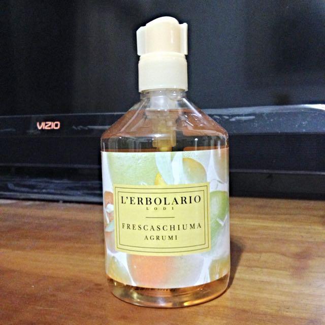 義大利第一品牌 蕾莉歐 全新檸檬葡萄柚潔膚乳