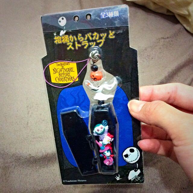 [出清 ]Disney 骷顱頭人吊飾 日本帶回