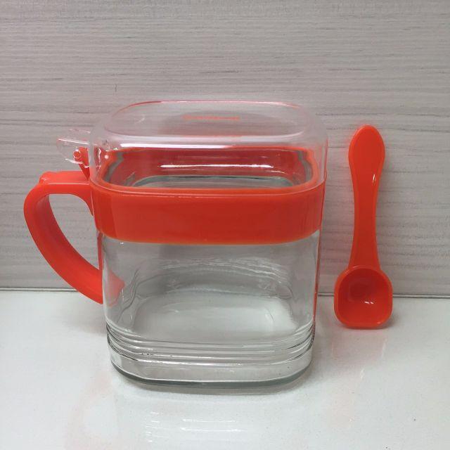 全新含盒 Selene 玻璃調味罐 TS-400