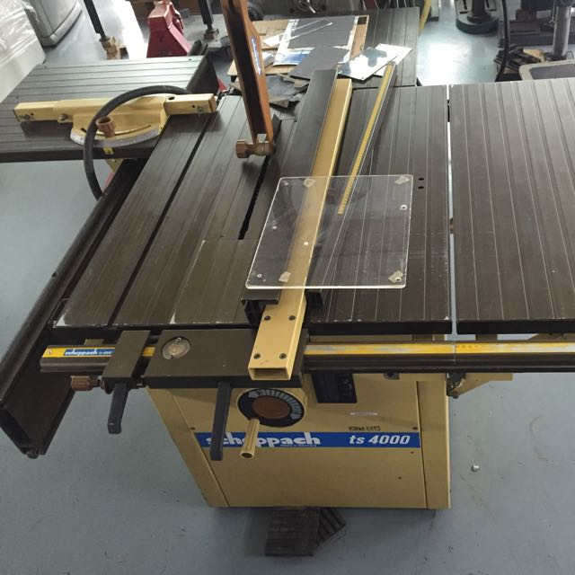 Scheppach Ts 4000 Sliding Table Saw  Furniture On Carousell