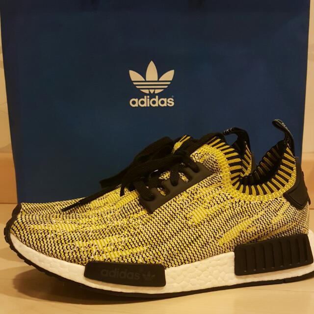 ADIDAS NMD (UK 9) Runner PK Yellow