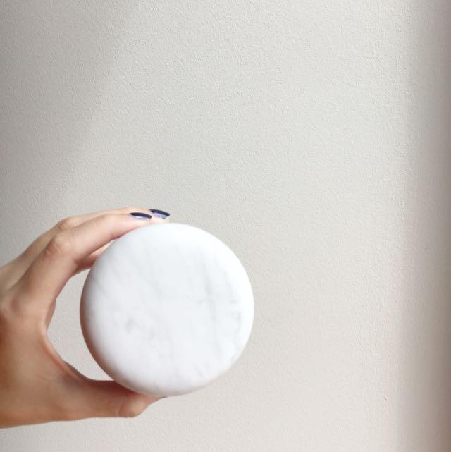 Authentic Carrara Marble Jars