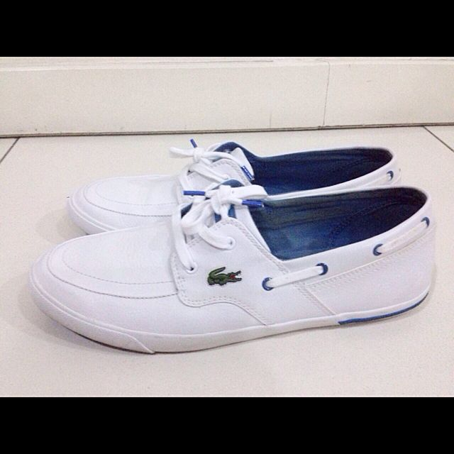 f3eafd4cc3eac Authentic Lacoste Sport Ramer Boat (Men)