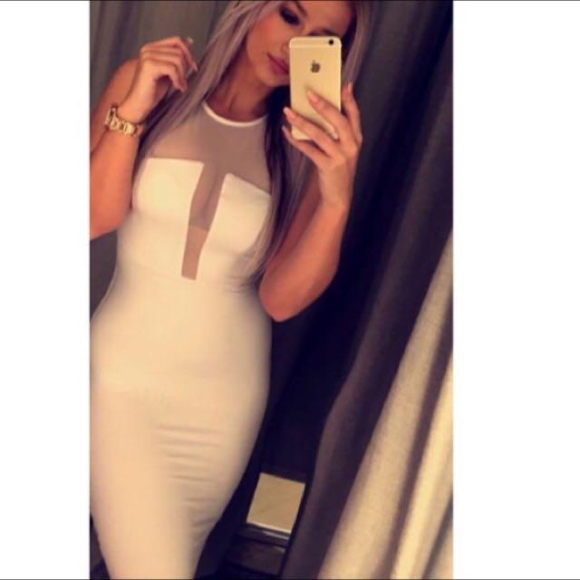 Brand New Kookai White Dress