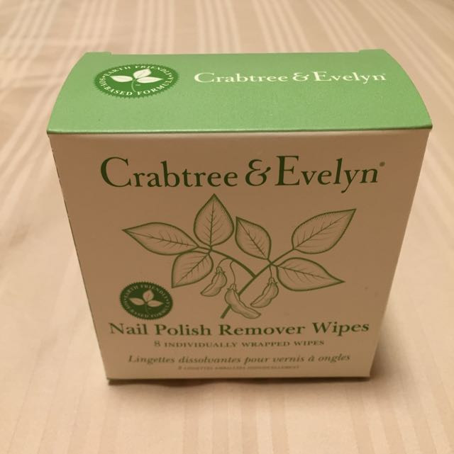 Crabtree & Evelyn Nail Polish Remover Wipes, Health & Beauty on ...