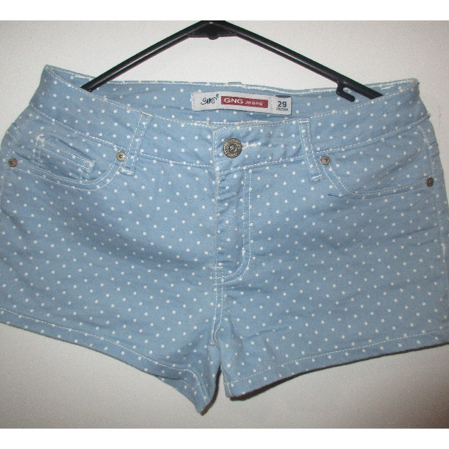 Denim shorts (3 colours available)