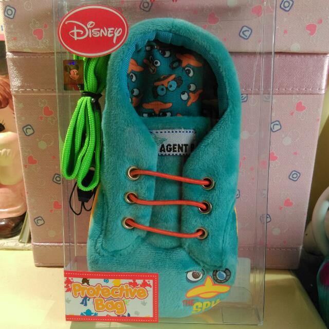 [Disney手機卡夾包]-泰瑞