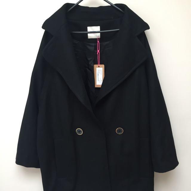 Gorman 'Cocoon' Woollen Coat - 14