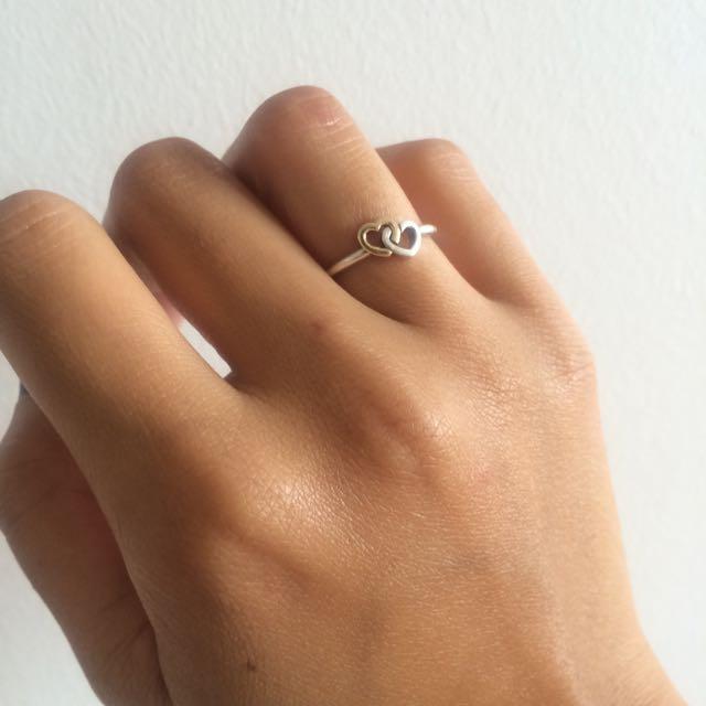 Heart To Heart Pandora Ring.