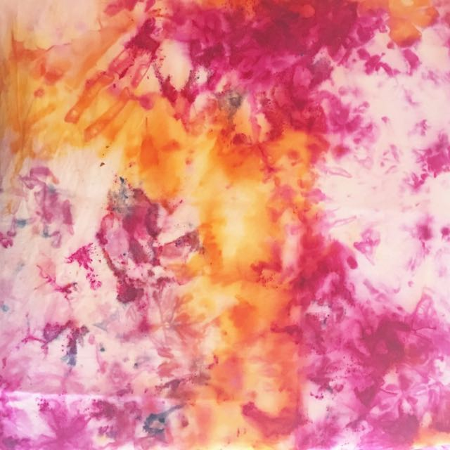 Ice Dyed Fabric