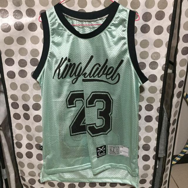 (二手)king Label 球衣 23 蒂芬尼綠 湖水 綠