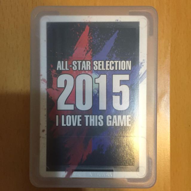 NBA 2015全明星賽撲克牌