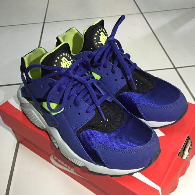 Nike Huarache 藍武士