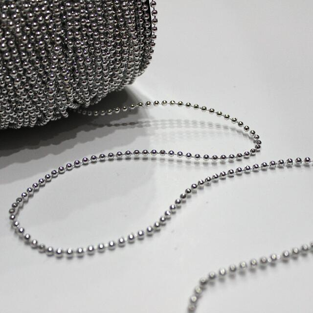 Pearl Strings - Silver 3MM