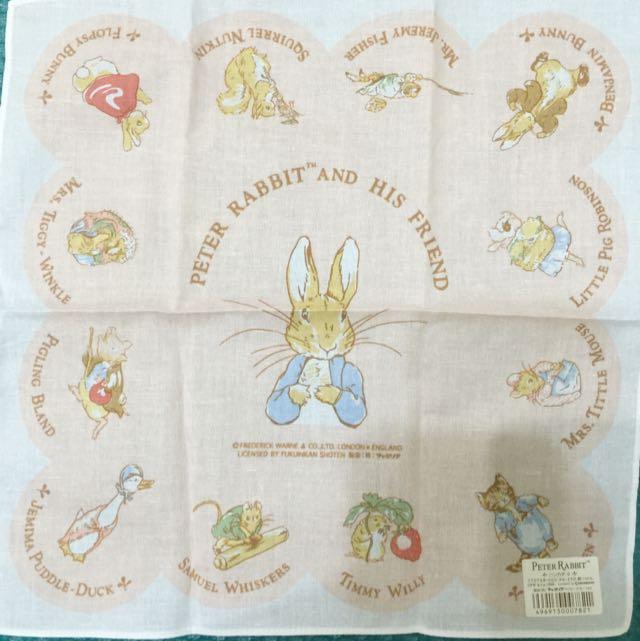 Peter Rabbit彼得兔 小方巾