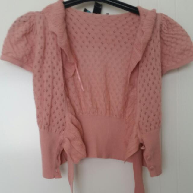 Pink Capelet MNG