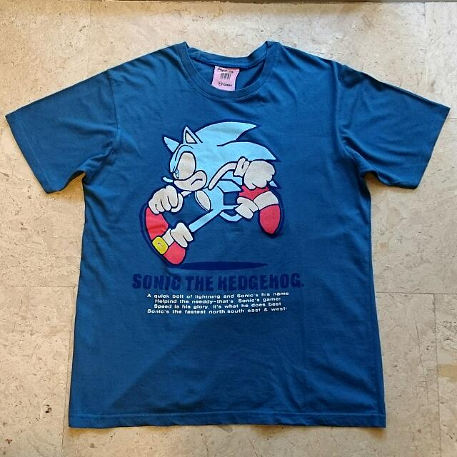 Sonic The Hedgehog T Shirt Men S Fashion On Carousell