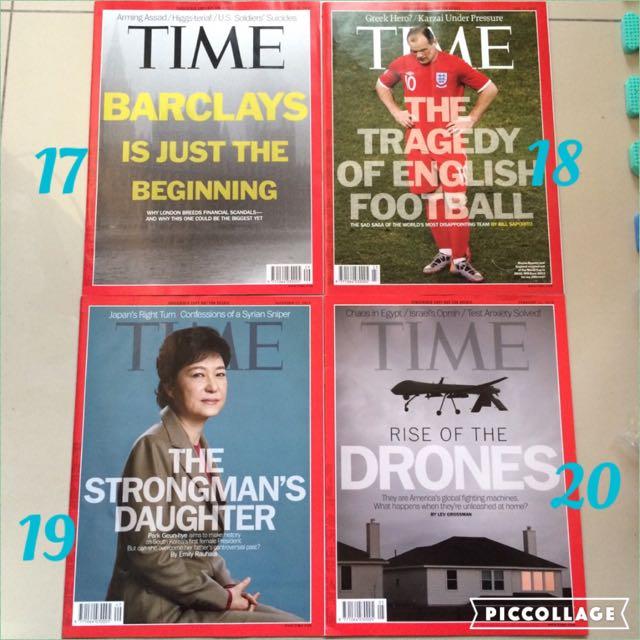Time 時代雜誌 過期