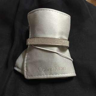 (保留)全新Calvin Klein/CK施華洛水晶晶鑽手環