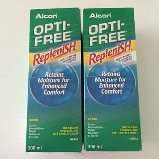 $10 For Both Alcon Opti-free Solution (Contact Lens)