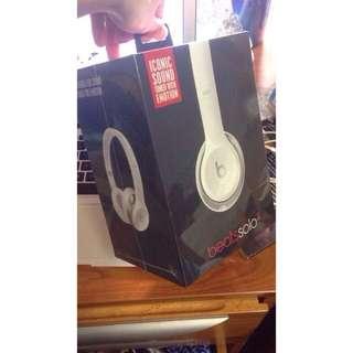 [代po]Beats solo 2 耳罩式耳機 白