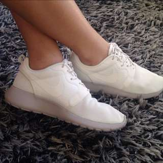Genuine All White Nikes Womans