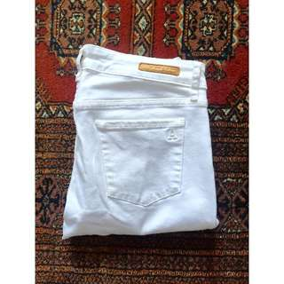 Articles of Society Jeans MYA in Optic white