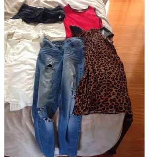 Ladies Bulk Clothes Size 10