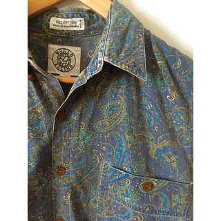 Vintage re-worked cotton shirt