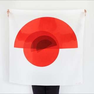 Arcs Furoshiki Scarf by Link Collective