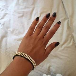Shiny white Diamond Bracelet