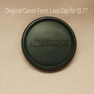 Canon Genuine Front Lens Protective Cap For Rangefinder QL17 OR 50mm/1.4
