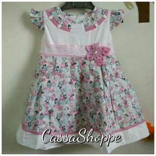Dress Pink Flower Brooch