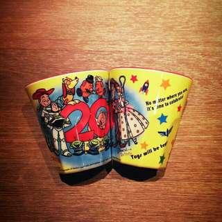 玩具總動員 東京迪士尼 杯子