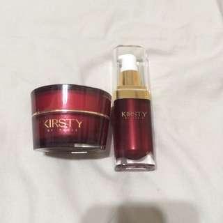 (降價)Kirsty精華液+面霜
